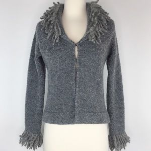 Free People wool blend cardigan sweater M